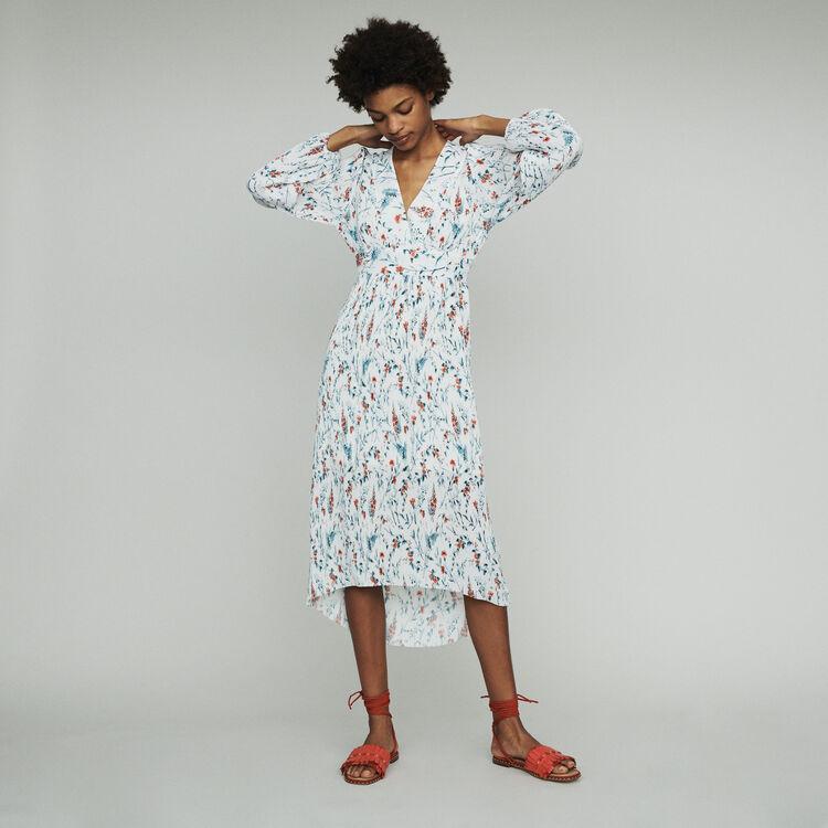 마쥬 RASIONA 프린티드 롱 원피스 MAJE RASIONA Long printed dress,PRINTED