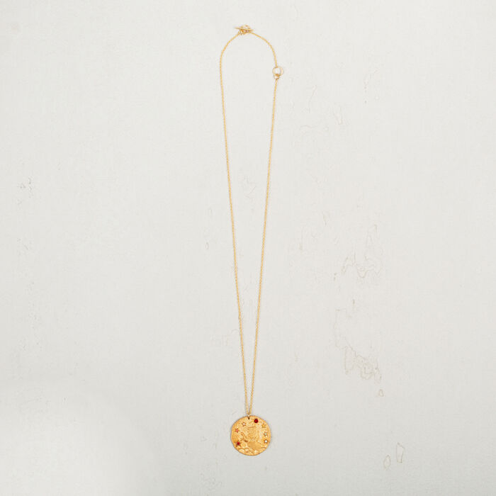 Leo zodiac sign necklace -  - MAJE