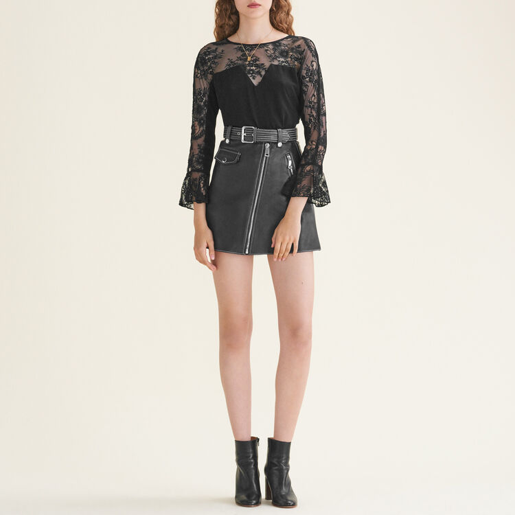 Floaty lace top - Tops & T-Shirts - MAJE
