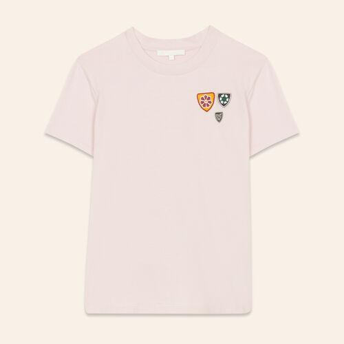 Basic cotton T-shirt - Tops & T-Shirts - MAJE