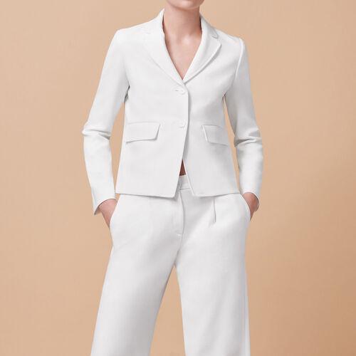 Tailored jacket - Coats & Jackets - MAJE