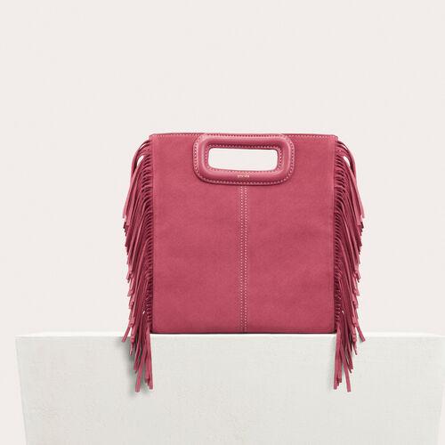 Suede M bag - M Bags - MAJE