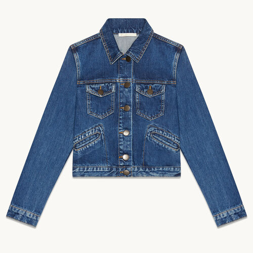 Denim jacket - Coats & Jackets - MAJE