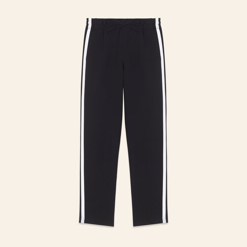 Jogging-style trousers - Pants & Jeans - MAJE