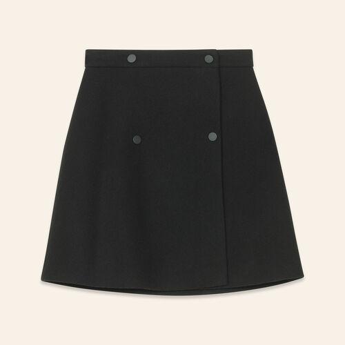 Wraparound skirt - Skirts & Shorts - MAJE