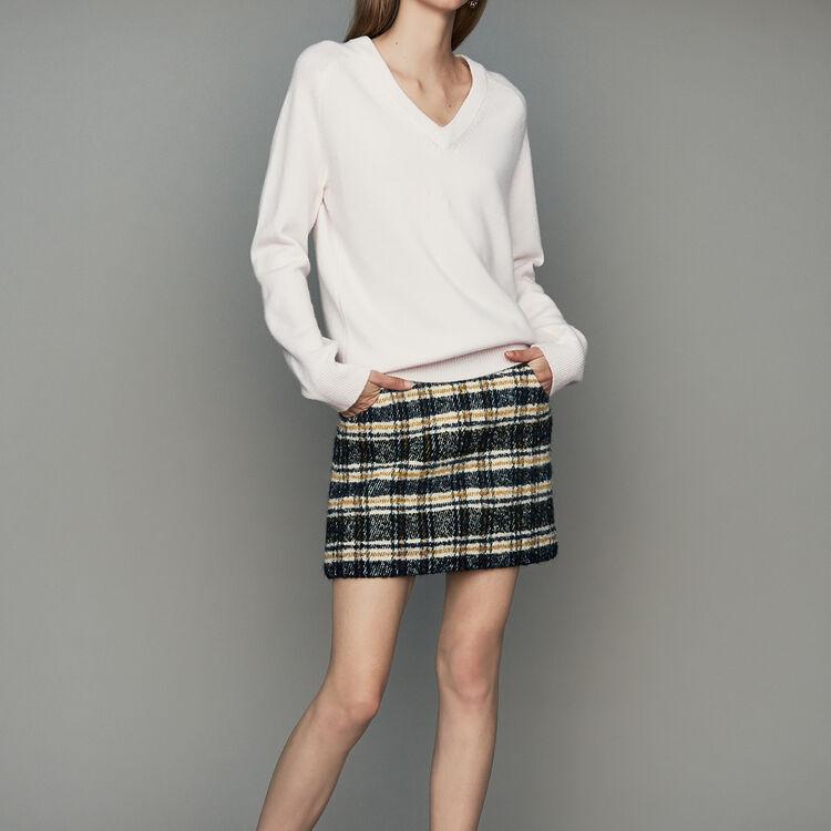 마쥬METRO 오버사이즈 울-캐시미어스웨터 (박신혜 착용) MAJE METRO Oversized wool-cashmere sweater