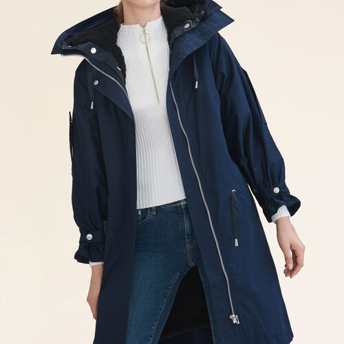 Long parka - Coats & Jackets - MAJE