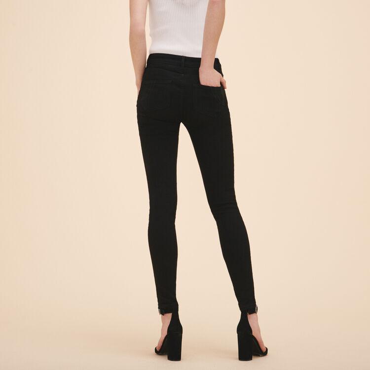 Cotton slim jeans - Pants & Jeans - MAJE