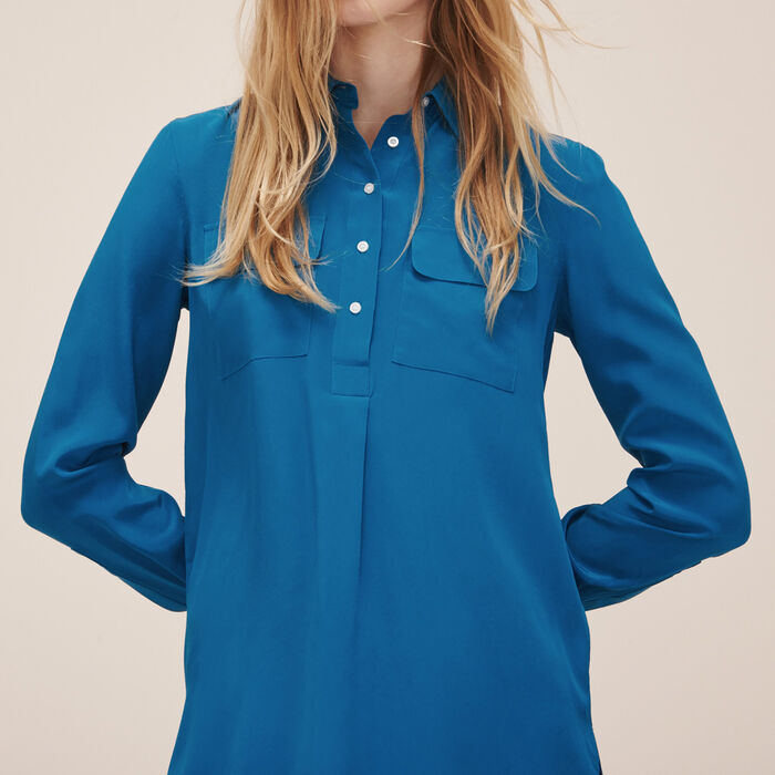 Silk blouse -  - MAJE