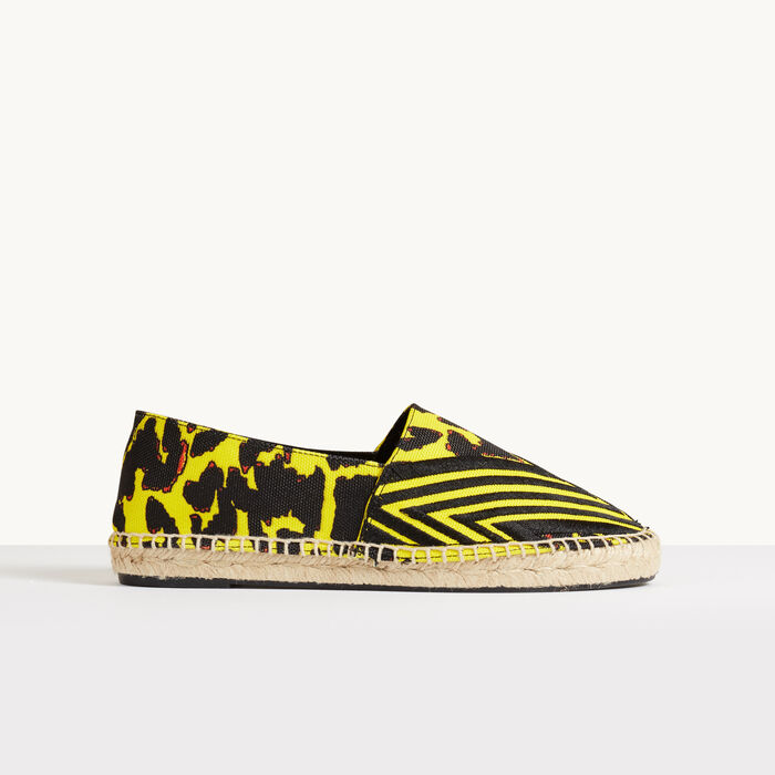 Printed espadrilles - Shoes & Accessories - MAJE