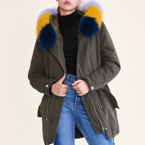 Parka with removable lining - Fall-Winter 2017 - MAJE