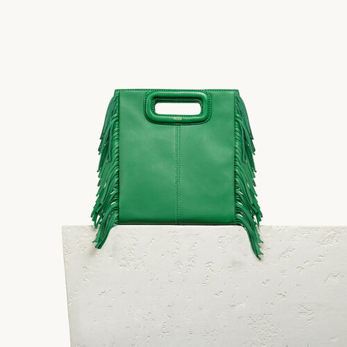 Lambskin M bag - Shoes & Accessories - MAJE