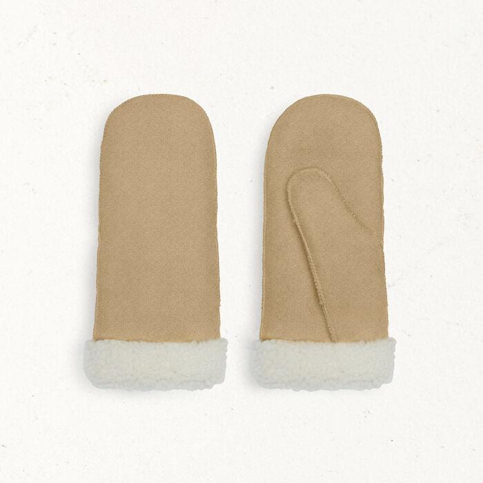 Sheepskin mittens -  - MAJE