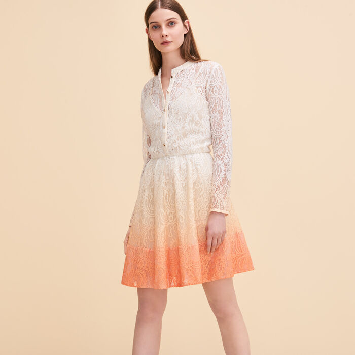Lace puffball dress - Dresses - MAJE