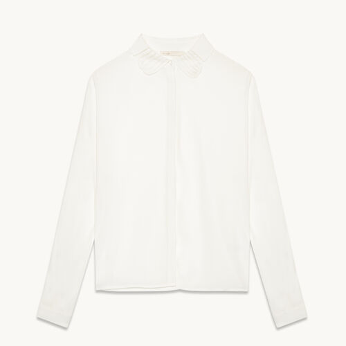 Silk blend shirt - Tops & Shirts - MAJE