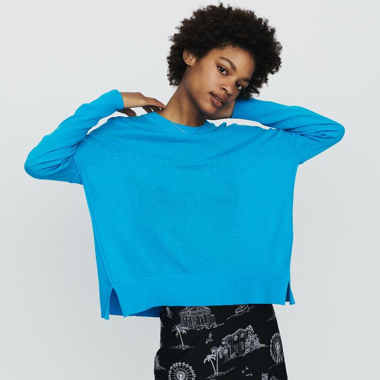 마쥬 MANOEL 오버사이즈 캐시미어 스웨터 MAJE MANOEL Oversize sweater in cashmere