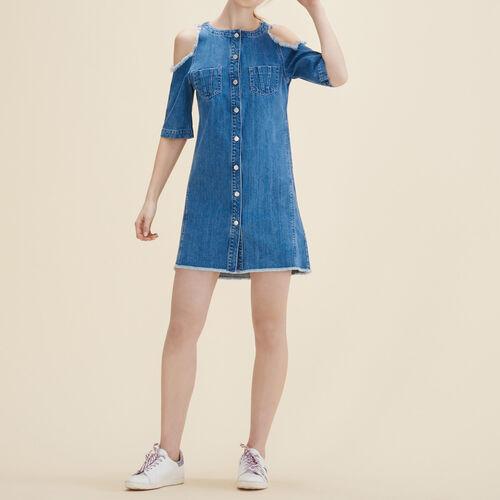 Denim dress - Dresses - MAJE