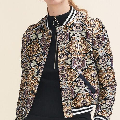 Jacquard jacket - See All - MAJE