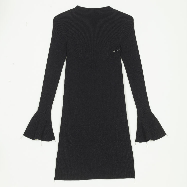 Lurex knit dress - Dresses - MAJE