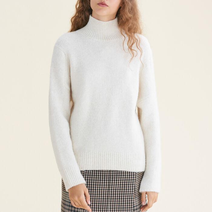 High neck jumper - Sweaters - MAJE