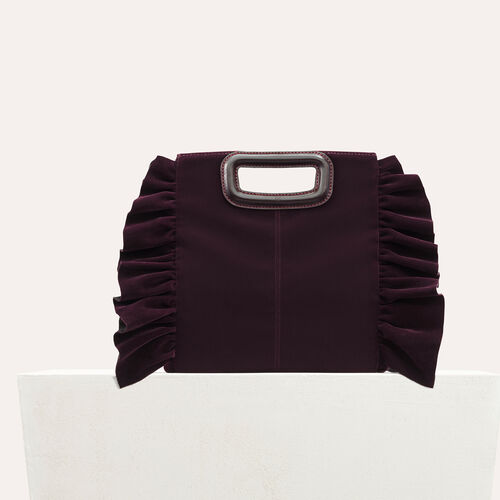 Frilled M bag - All bags - MAJE