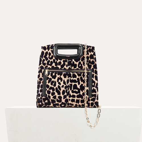Leopard print bag - All bags - MAJE