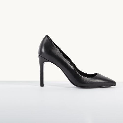 Leather pumps - Shoes - MAJE