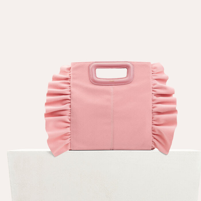 Frilled M bag -  - MAJE