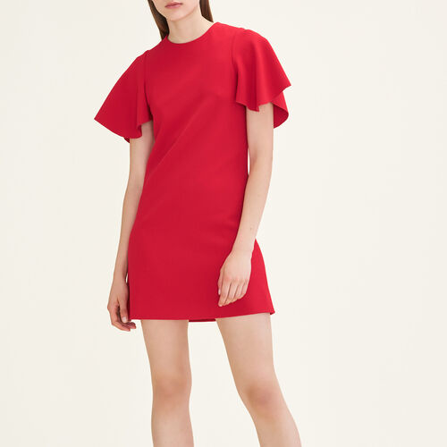 Butterfly sleeve dress - Dresses - MAJE