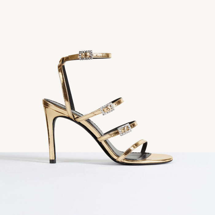 Heeled sandals - Shoes & Accessories - MAJE
