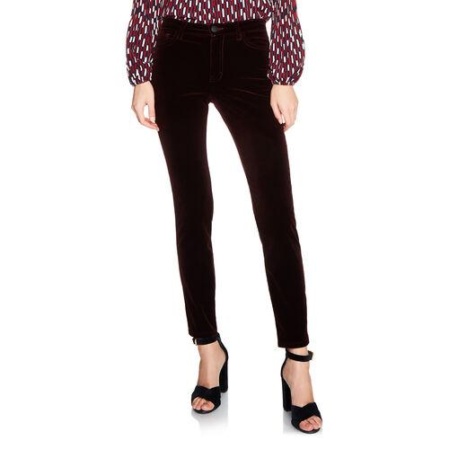 Velvet 5-pocket trouser - Pants & Jeans - MAJE