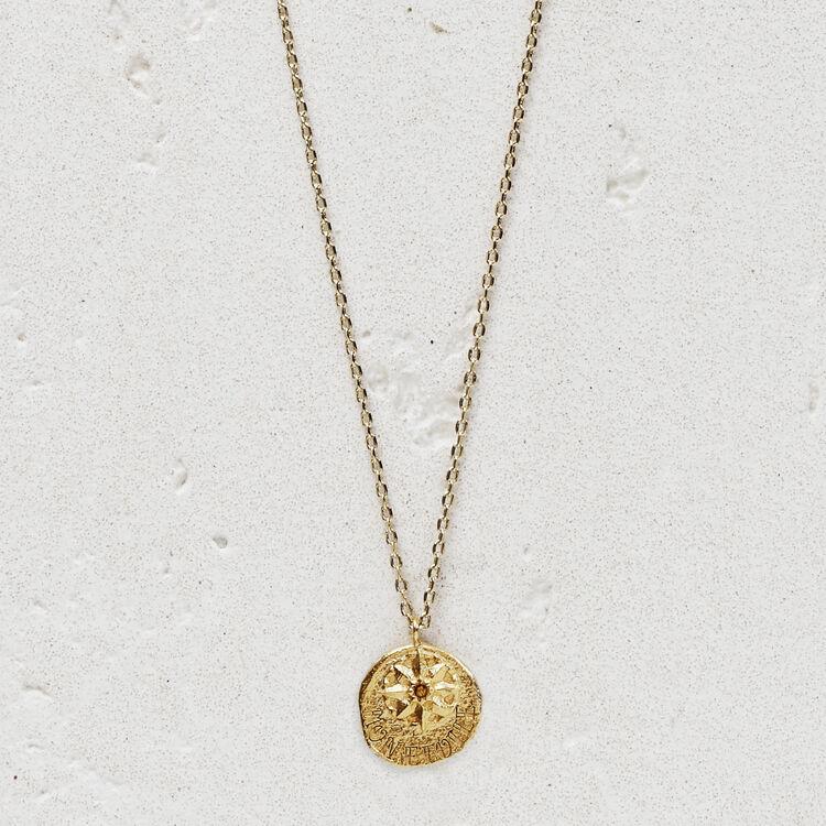 마쥬 NETOILE 목걸이 MAJE NETOILE Necklace Mon etoile in gold plated,GOLD