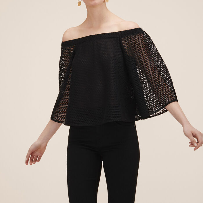 Lace top - Tops & Shirts - MAJE