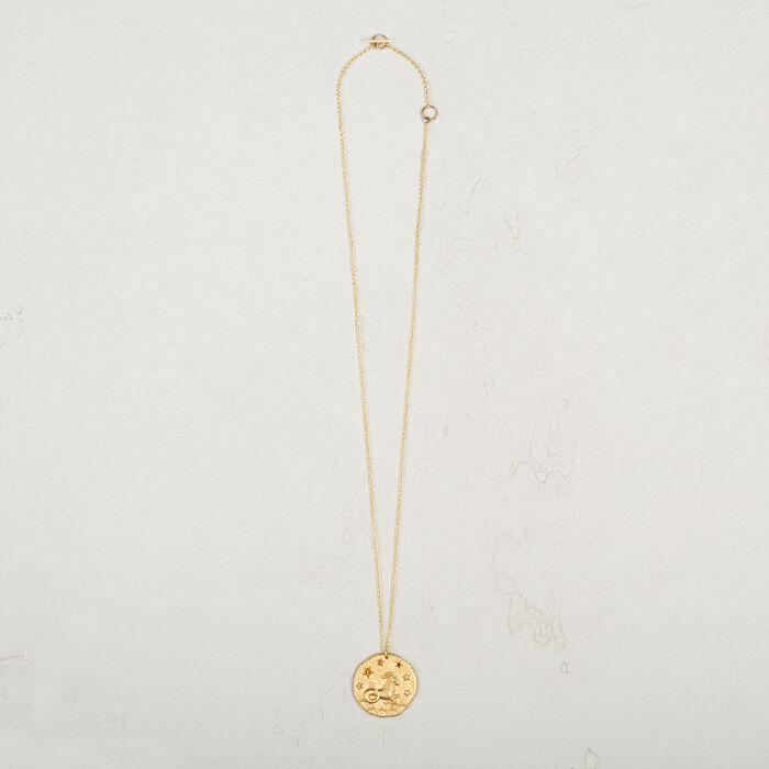 Capricorn zodiac sign necklace -  - MAJE