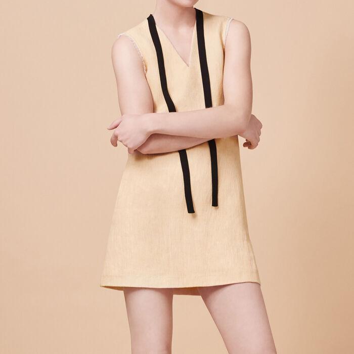 Sleeveless A-line dress -  - MAJE