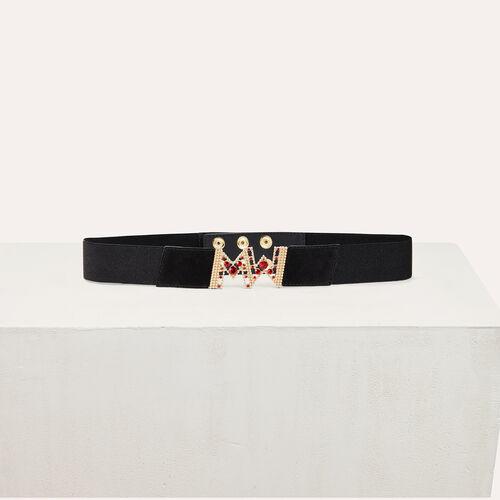 Wide elasticated belt - Evening Capsule - MAJE
