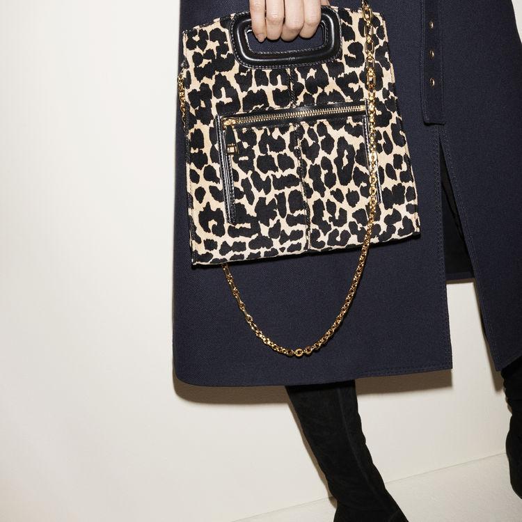 Leopard print bag -  - MAJE