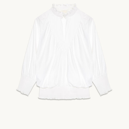 Cotton blouse - Tops & T-Shirts - MAJE