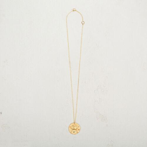 Cancer zodiac sign necklace - Jewelry - MAJE