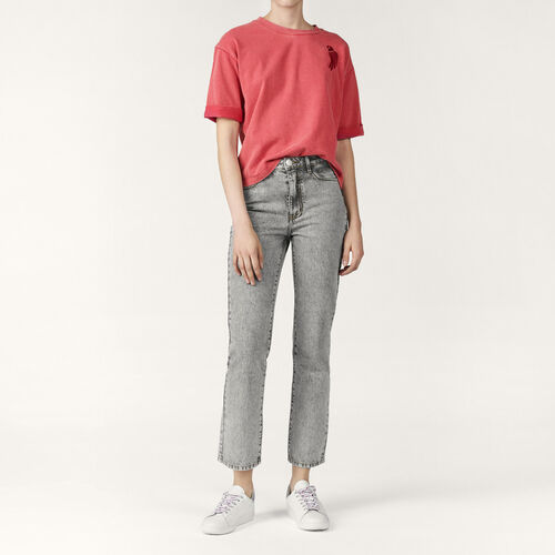 Faded skinny jeans - Pants & Jeans - MAJE