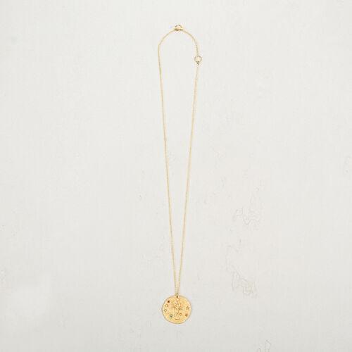 Virgo zodiac sign necklace - Jewelry - MAJE