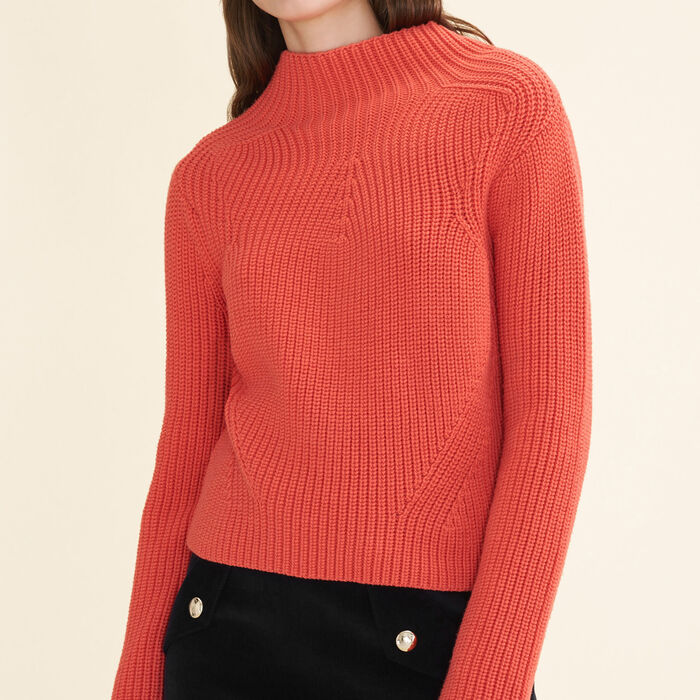 Chunky knit jumper - Sweaters - MAJE
