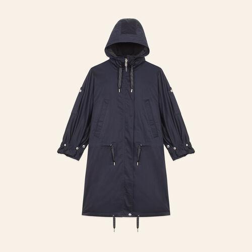 Long parka - Coats & Jackets - MAJE