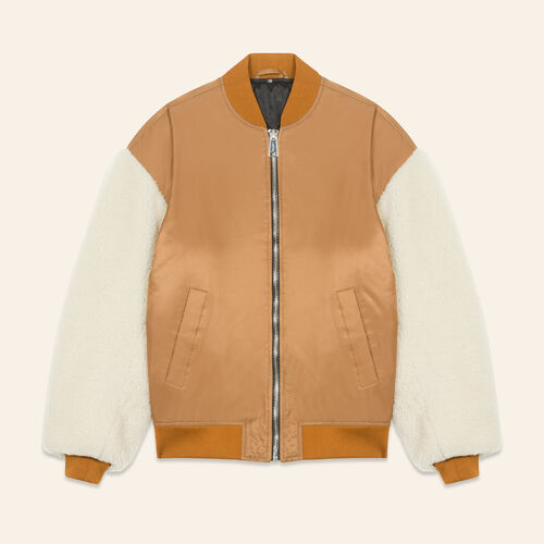 Sheepskin jacket - Coats & Jackets - MAJE
