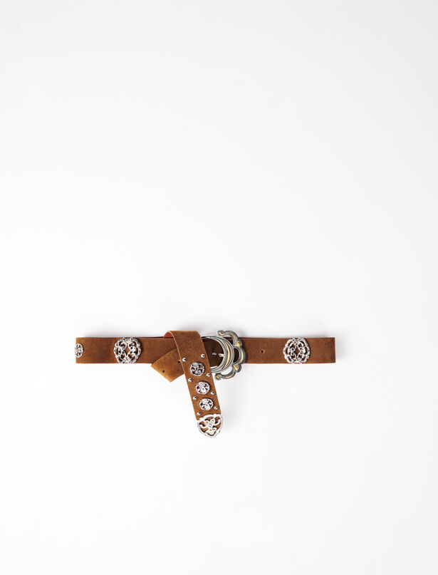 마쥬 벨트 MAJE 220API Berber-style leather belt