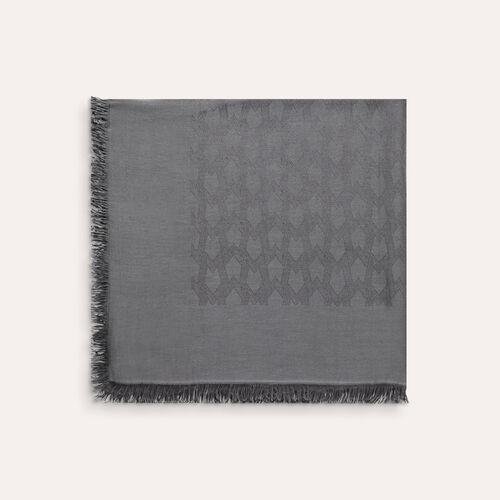 Cotton blend  shawl - Scarves - MAJE