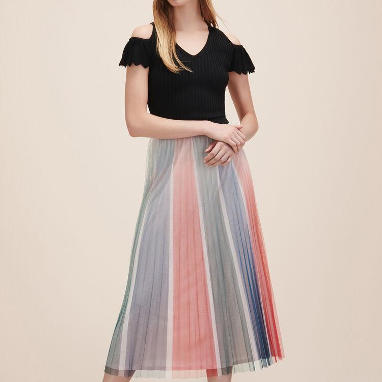 Pleated midi skirt - Skirts & Shorts - MAJE