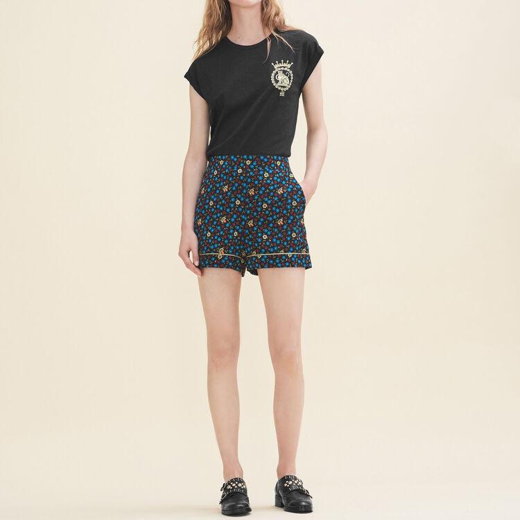 Floral print shorts - Skirts & Shorts - MAJE