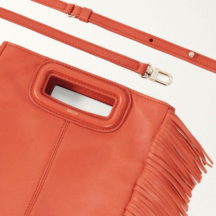 Lambskin M bag : M Bags color Brick