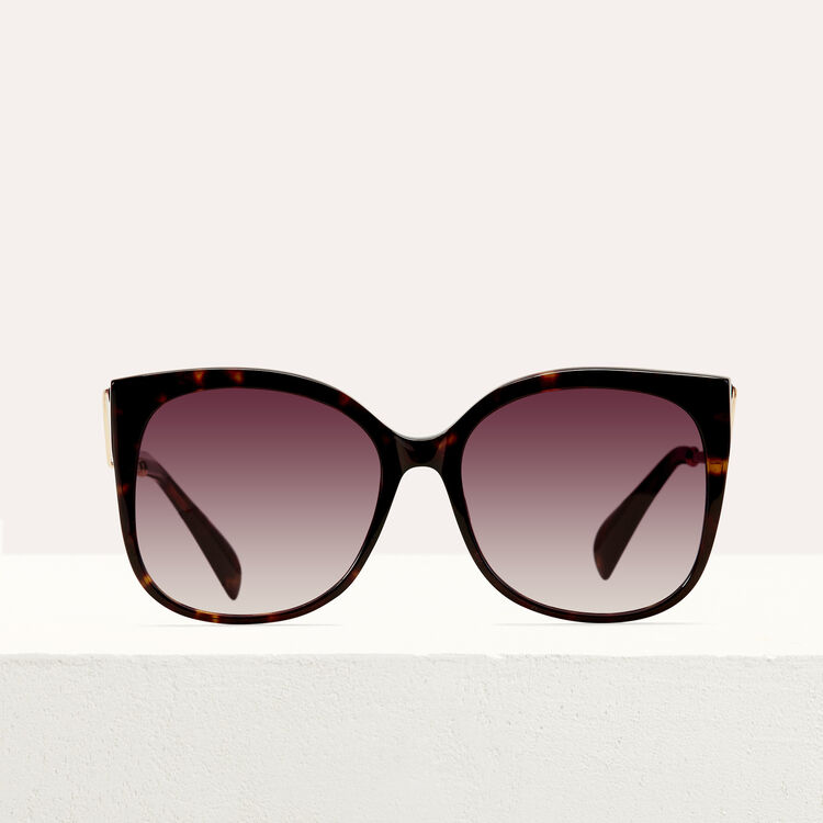 Retro sunglasses : Sunglasses color ECAILLE